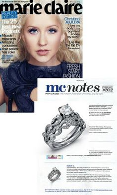 Simon G Ring - I'm sorry...!? My ring is in a magazine ? What/!? lol