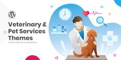 Best Veterinary and Pet Services WordPress Themes - ModelTheme Grooming Salon, Pet Grooming, Animal Care Hospital, Pet Services, Pet Hotel, Vet Clinics, Adoption Center, Shop Layout, Dog Daycare
