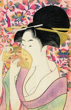 Le Peigne | Utamaro