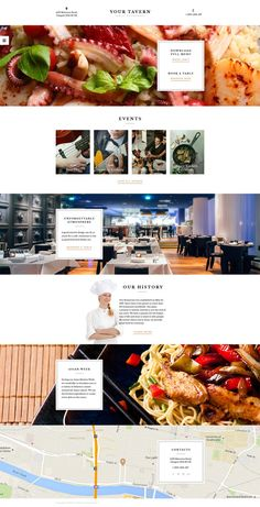 #Cafe and #estaurant #Responsive #Website #Template.Additional Features: Sliced PSD, Back To Top Button, Crossbrowser Compatibility, Dropdown Menu, Favicon, Google map, Google Web Fonts, Live Search, Tabs Animation: HTML plus JS, Parallax Bootstrap Version: 3.3.x Coding: 1170 Grid System, CSS 3, HTML 5, JQuery, Semantic Code, Valid Coding Features: Bootstrap, Extra Pages Layouts, On-line chat, Responsive Gallery Script: Slider Language support: English Notice: Some of the forms included…