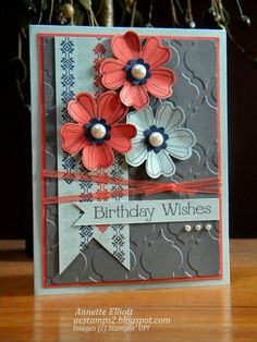 Birthday Wishes- cQc #201 by AEstamps2 - Cards and Paper Crafts at Splitcoaststampers