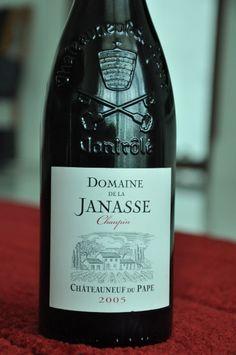 Domaine de la Janesse Chateauneuf Du Pape, 2005. Elegant & delicious.