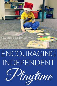 Encouraging independent playtime (with extroverted children who hate being alone) -
