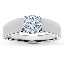 Classically styled in white gold with gentle flares around the center, this solitaire ring setting will bring out the beauty in the diamond you select. Bridesmaid Accessories, Bridesmaid Jewelry Sets, Bridal Jewelry Sets, Bridal Rings, Wedding Rings, Wedding Stuff, Wedding Ideas, Jared Engagement Rings, Solitaire Engagement