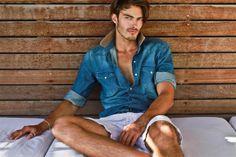 CoverMen Mag: David Rosenberg, top male model - Photos
