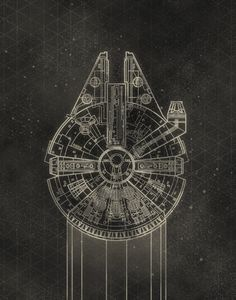 Star Wars Schematics Series - Created by Lindsey CowleyPrints available for sale on Society6.