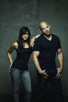 Letty & Dom..... (Michelle Rodriguez  & Vin Diesel)