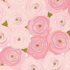 Snow & Graham Designer Print - Garden Roses ~Via moxie moksi