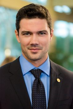 "Ryan Paevey as Donovan Darcey in Hallmark Chanel 2016 original movie ""Unleashing Mr. Darcey"" !"