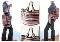 Crochetemoda Blog: Crochet - Bolsas