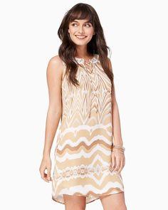 Lelia Lace Up Dress - $29.00