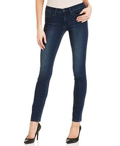 I like this kind of skinny jean-- slim ankle and low-ish waist. Still searching for the perfect ones to add to my wardrobe