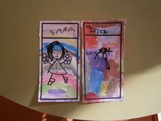 LA CLASE DE MIREN: mis experiencias en el aula: NUESTROS CARTELES DE LAS PERCHAS