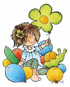Hm9469 Snoesjes - Party balloons - Snoesjes stempels - Clear stamps - Hobbynu.nl