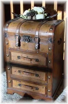 antique travel case