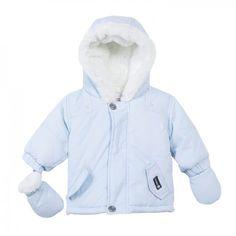 Absorba Baby Boy Pale Blue Winter Jacket
