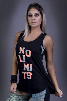 Regata No Limits - Donna Carioca, Moda fitness e lingerie com preço de fábrica