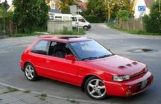 Photo of Mazda 323 GTR Mazda Familia, Japan Motors, Car Tuning, Dream Cars, Mustang, Automobile, Specs, Passion, Board