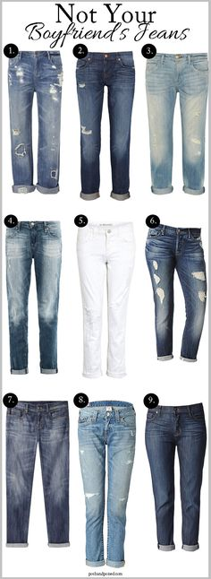 """""""NOT Your Boyfriend's Jeans""""   Love the 'Josefina' pair by 7 For All Mankind (#5)  (via Posh and Poised   Fashion Diaries of a Professionista   posted February 15, 2013)"""