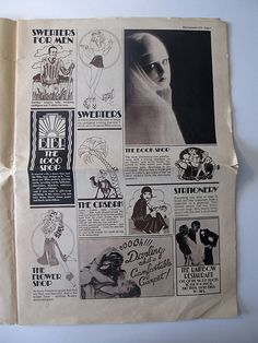 The Biba newspaper was designed by Steve Thomas in the late summer of 1973 (page 3)