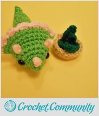 EDITOR'S CHOICE (02/12/2016) Amigurumi Triceratops by CharleeAnn View details here: http://crochet.community/creations/4194-amigurumi-triceratops