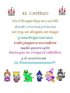 RECURSOS DE EDUCACION INFANTIL: PROYECTO CASTILLO Y MEDIEVAL Simple Poems, Real Castles, Saint George, English Class, Kids Songs, Nursery Rhymes, Crafts To Do, Middle Ages, Second Grade