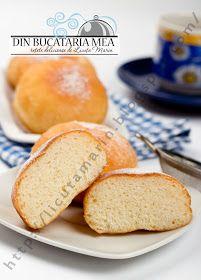 Din bucătăria mea: Gogosi pufoase Cornbread, Donuts, Hamburger, Gem, Ethnic Recipes, Food, Millet Bread, Frost Donuts, Beignets