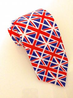 Union Jack Flag Tie  #VanBuck #Tie #NeckTie #Ties #UnionJack #Flag #FlagTies #UnionJackTie #British #Britain #Novelty #Colourful #Accessories #MensAccessories #FabTies  http://www.fabties.com/ties/novelty-ties/union-jack-flag-tie.html