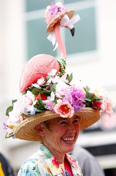 The Derby is as much of a headwear fashion show as it is a sporting event.  12 Fabulously Festive Kentucky Derby Hats | Mental Floss
