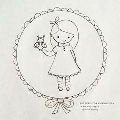 i LOVE this embroidery pattern by nanaCompany! Can't wait to stitch her up!
