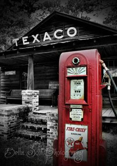 Old Texaco Station, Green Pond, SC. (torn down in 2013).