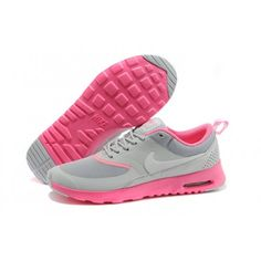 huge discount 74b91 109fa Cheap Women Nike Air Max Thea - High Brand Nike Women Air Max Thea Grey  Pink Running Shoes For Discount