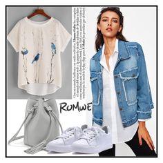 """Romwe VI/1"" by ruza66-c ❤ liked on Polyvore featuring romwe"