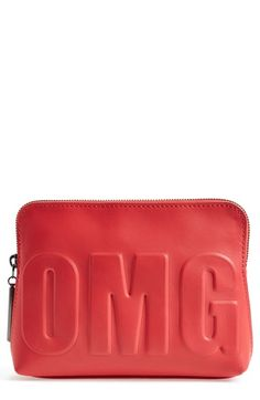 3.1 Phillip Lim '31 Second - OMG' Leather Pouch
