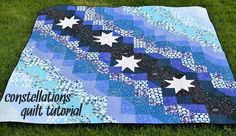 Kitchen Table Quilting: Constellations Quilt Tutorial  http://www.kitchentablequilting.com/2013/06/quick-constellations-quilt-tutorial.html