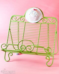 Happy Cupcake Cookbook Stand. I need a cookbook stand! Why don't I already have one???