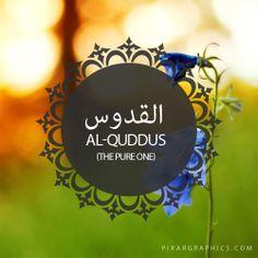 Al-Quddus,The Pure One-Islam,Muslim,99 Names