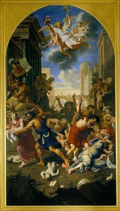 Michel Corneille, dit l'Ancien (1603-1664) - Le Massacre des Innocents, vers 1650 – Tours, Musée des Beaux-Arts