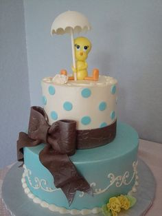 Tweety bird cake I want for my next birthday!
