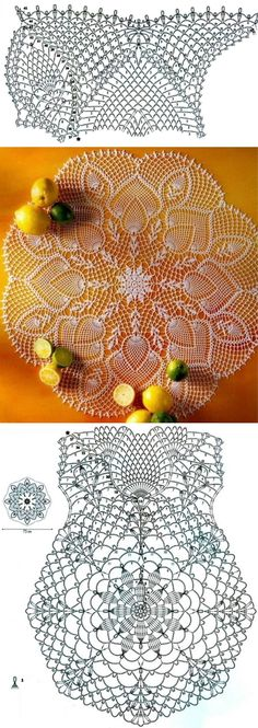 Many free crochet patterns available here. by Many free crochet patterns available here. Crochet Dollies, Crochet Doily Patterns, Crochet Art, Crochet Home, Thread Crochet, Filet Crochet, Irish Crochet, Crochet Motif, Crochet Designs