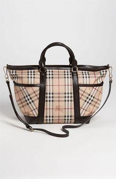 Burberry 'Haymarket Check' Diaper Bag ONLY $1,195.