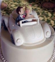 VW Wedding cake!  Amazing!!