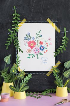 Drew Barrymore Wildflower printable quote