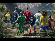 Nike Last World Cup Commercial 2014 ft. Cristiano Ronaldo, Neymar Jr., Rooney, Ibrahimović, Iniesta - YouTube