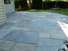 Pennsylvania Bluestone Patio Pictures