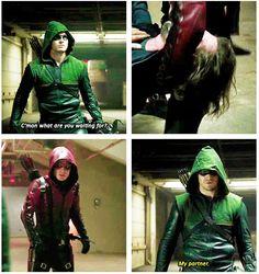 Arrow - Oliver and Roy #3.1 #Season3