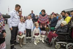 09 AUGUST 2014 Crown Prince Frederik and Crown Princess Mary Crown Prince Frederik,Crown Princess Mary and their children visited Nuuk ,Greenlad.