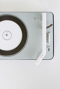sleek record player