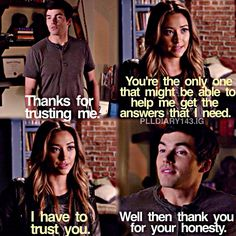"""#PLL 5x11 """"No One Here Can Love or Understand Me"""" - Ezra and Emily"""