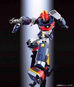 Bandai Choudenji Machine Voltes V F.A.: Tamashii Nations Soul of Chogokin Die-Cast Action Figure - Toys Lego Transformers, Real Robots, Robot Cartoon, Japanese Robot, Tokyo Otaku Mode, Mecha Anime, Super Robot, Mode Shop, Robot Art